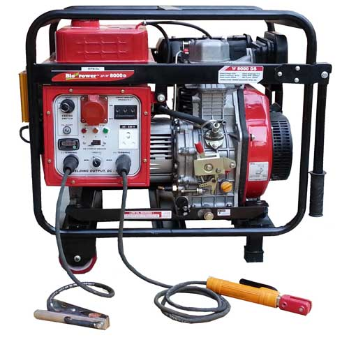 3 PHASE DIESEL GENERATOR WELDING MACHINE BY HPM