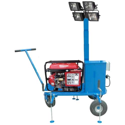 portable light tower generator