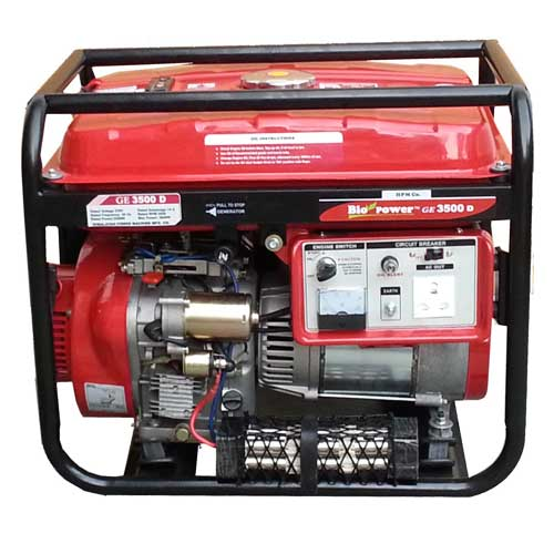 Single phase diesel portable generator by HPM