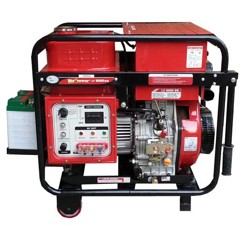 Diesel Portable Generators Series. (3 Phase) Export Model
