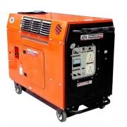 Petrol Silent Generators Series. (Single Phase)