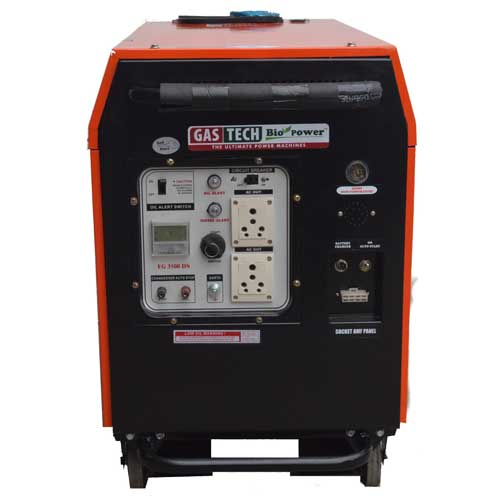 silent diesel portable generators in India by HPM