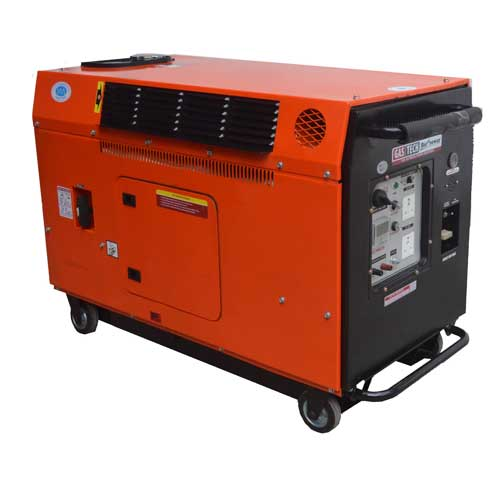 silent diesel portable generator single phase by HPM INDIA